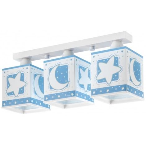 Dětské stropní svítidlo BLUE MOON 3xE27/60W