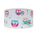 Dětské stropní svítidlo OWLS 2xE27/60W/230V