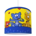 Dětský lustr CAT 1xE27/60W/230V žlutá