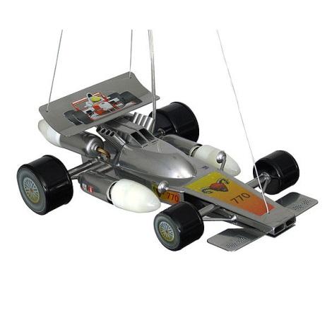 Dětský lustr Formule 4xE14/60W stříbrná