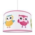 Dětský lustr na lanku OWLS 1xE27/60W/230V