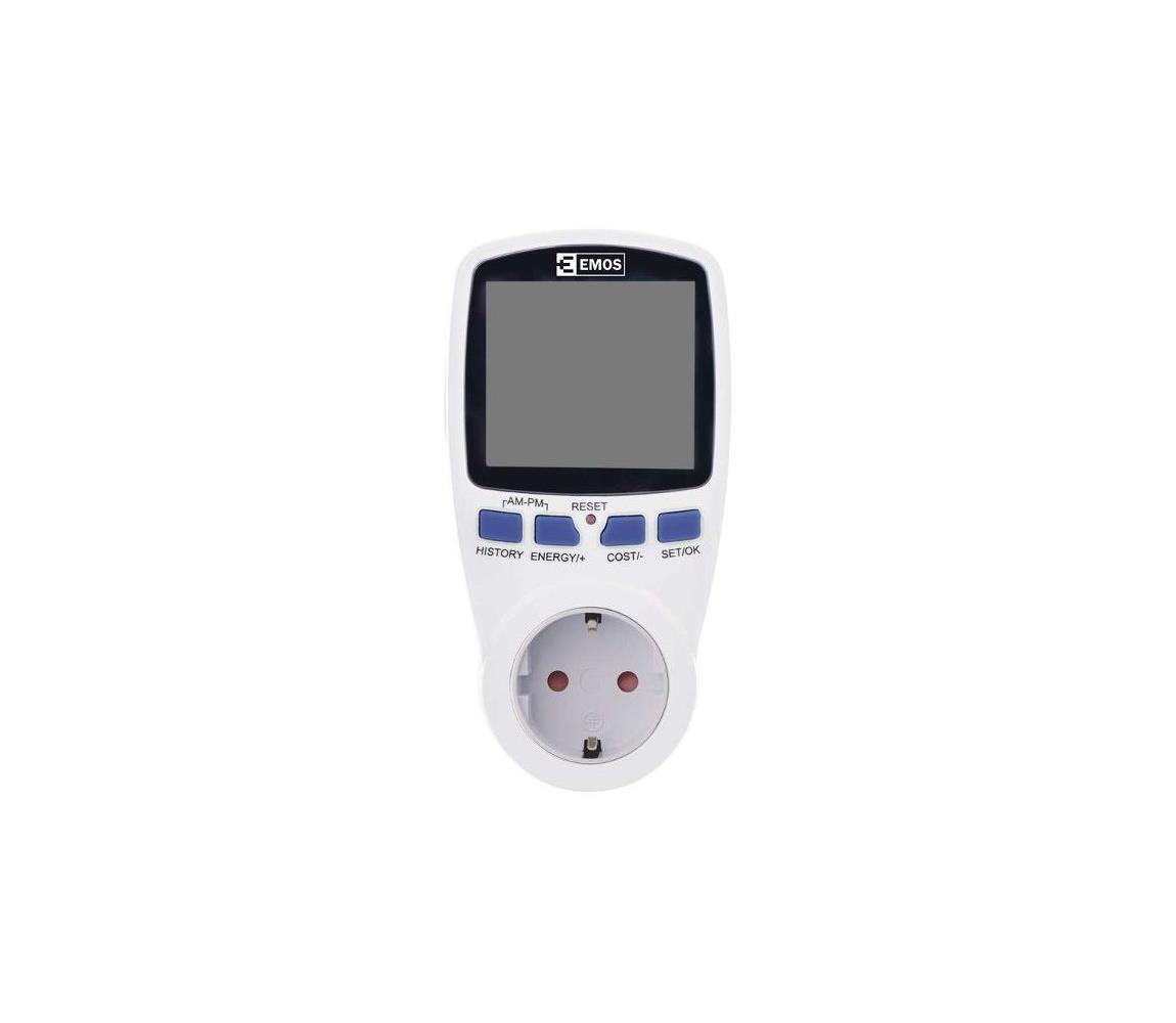 EMOS Digitální měřič spotřeby elektrické energie P5821