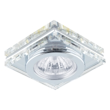 Downlight Family 1xGU10/50W Chrom/křišťál