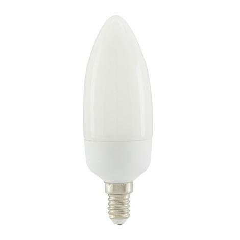 EGLO 12152 - Úsporná žárovka E14/9W Svíčka