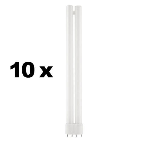 Eglo 12613 - Lineární zářivka 2G11/24W 10STK