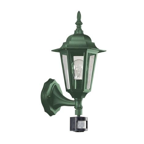 EGLO 13185 - Venkovní nástěnné svítidlo LATERNA 6 1xE27/60W s čidlem