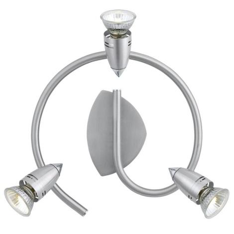 EGLO 13351 - Bodové svítidlo ALANO 3xGU10/50W