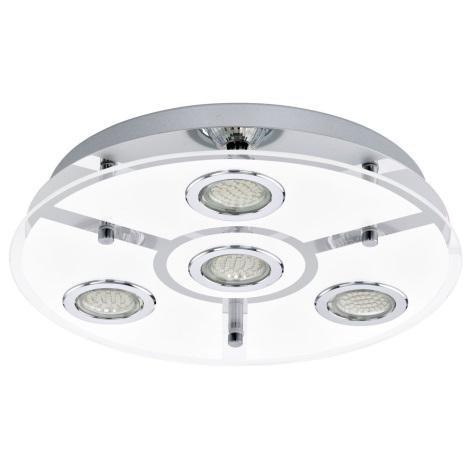 EGLO 13531 - LED Stropní svítidlo CABO 4xGU10 LED/2,5W