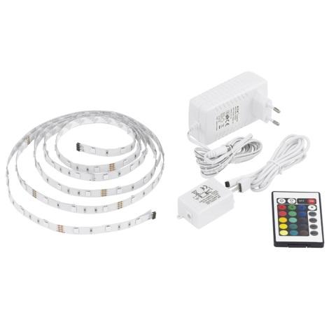 EGLO 13532 - RGB LED pásek 3 m 20W (90 LED)