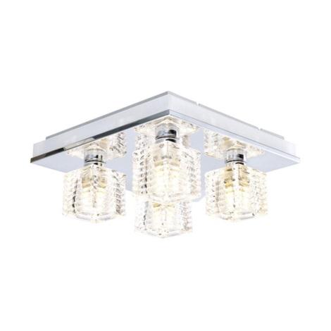 EGLO 13546 - LED Stropní svítidlo ISELLA 4xG9/33W + LED/2,4W