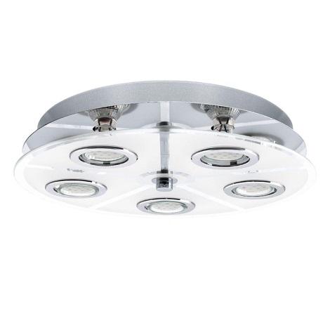 EGLO 13552 - LED Stropní svítidlo CABO 5xGU10 LED/2,5W