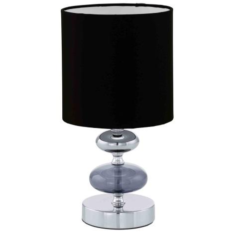 EGLO 13594 - Stolní lampa CASO 1xE14/40W černá