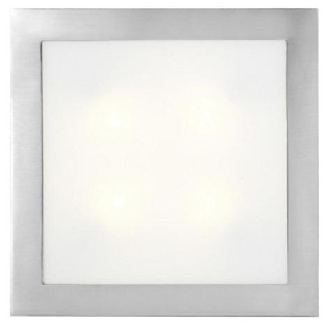Eglo 13969 -  Stropní nástěnné svítidlo ARI 4xE14/40W nerez