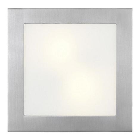 Eglo 13971 - Nástěnné stropní svítidlo ARI 2xE14/40W nerez