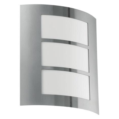 Eglo 18631 - Venkovní nástěnné svítidlo SANREMO 1xE27/60W/230V IP44