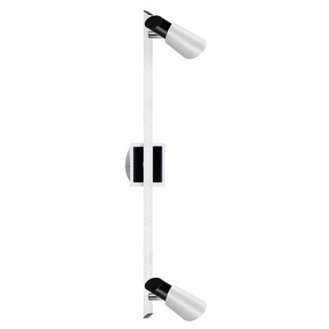 EGLO 22041 - Bodové svítidlo SKIP BLACK 2xGU10/50W