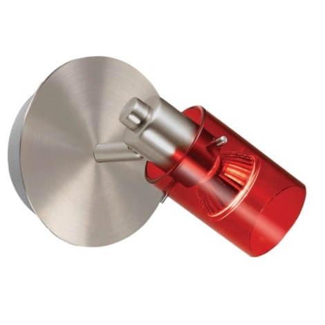 EGLO 22062 - Bodové svítidlo STOMP 1 1xGU10/50W červená
