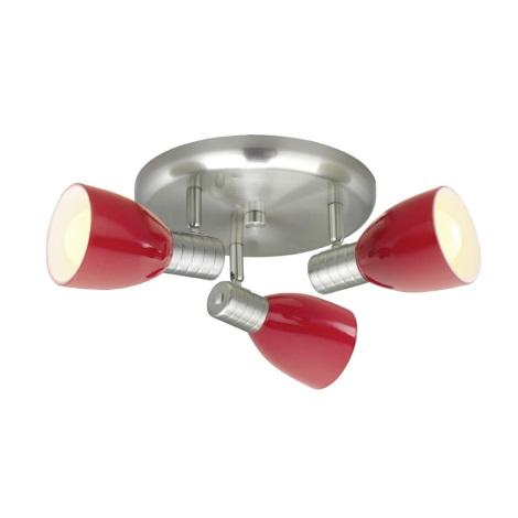 Eglo 22339 - Bodové svítidlo PRINCE 3xE14/7W/230V
