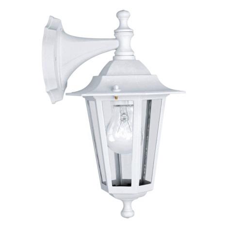 EGLO 22462 - Venkovní nástěnné svítidlo IP44 LATERNA 5 1xE27/60W/230V bílá