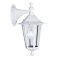 EGLO 22462 - Venkovní nástěnné svítidlo IP44 LATERNA 5 1xE27/60W/230V bílá IP44