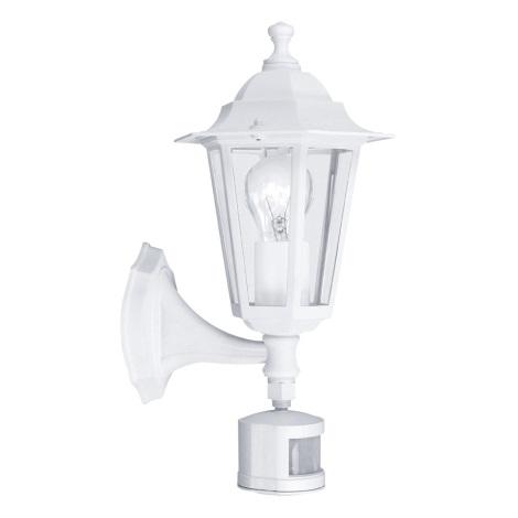 EGLO 22464 - Venkovní svítidlo s čidlem LATERNA 5 1xE27/60W/230V