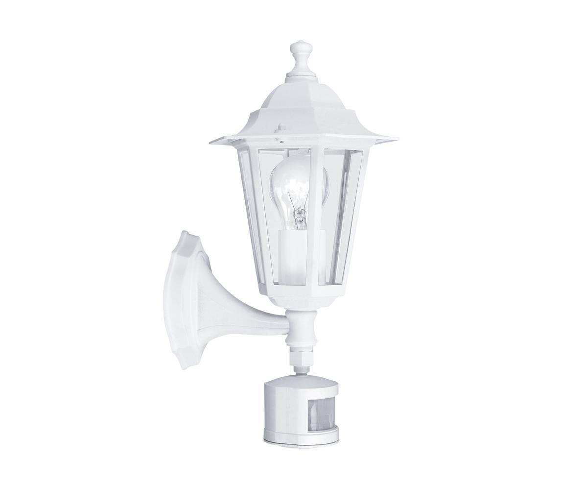 Eglo 22464 - Venkovní svítidlo s čidlem LATERNA 5 1xE27/60W/230V EG22464