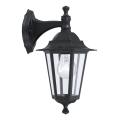 EGLO 22467 - Venkovní nástěnné svítidlo LATERNA 4 1xE27/60W černá