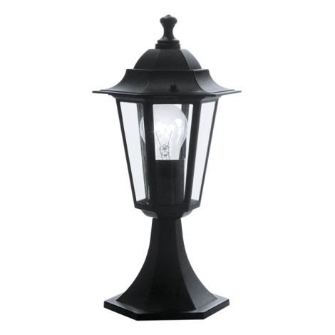EGLO 22472 - Venkovní lampa LATERNA 4 1xE27/60W černá