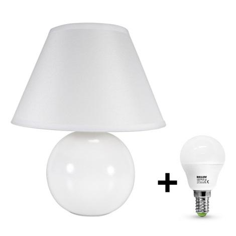 Eglo 23873 - LED Stolní lampa TINA 1xE14/6W/230V