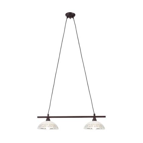 EGLO 24811 - Závěsné svítidlo OLYMP 2xE14/40W