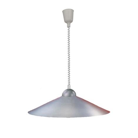 EGLO 27052 - Stahovací lustr 1xE27/100W stříbrná