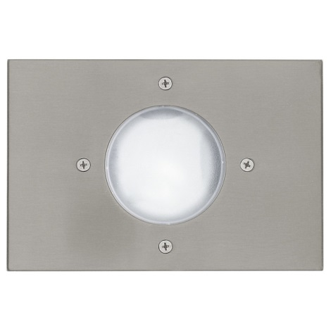 EGLO 27181 - Venkovní nájezdové svítidlo RIGA 3 1xE14/11W/230V bílá