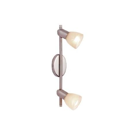 EGLO 27202 - Bodové svítidlo DAKAR 2xE14/40W matný chrom