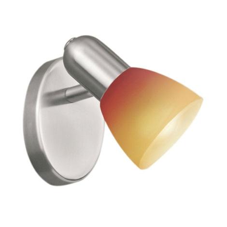 EGLO 27271 - Bodové svítidlo 1xG9/40W červené sklo