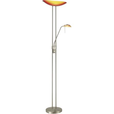 EGLO 27722 - Stmívatelná stojací lampa BAYA 1xR7s/230W+1xG9/33W