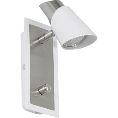 EGLO 27725 - Bodové svítidlo SKIP WHITE 1xGU10/50W