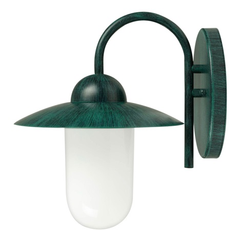 Eglo 27897 - Venkovní nástěnné svítidlo MILTON 1xE27/60W/230V