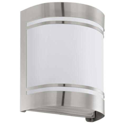 EGLO 30191 - Venkovní nástěnné svítidlo CERNO 1xE27/40W