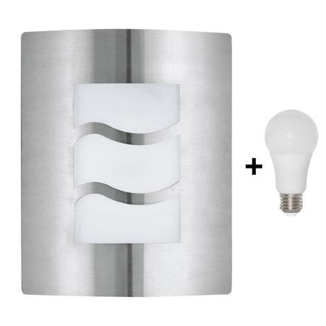 EGLO 30193 - LED Venkovní nástěnné svítidlo CITY 1 1xE27/10W/230V IP44
