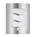 EGLO 30194 - Senzorové venkovní nástěnné svítidlo CITY 1 1xE27/60W/230V IP44