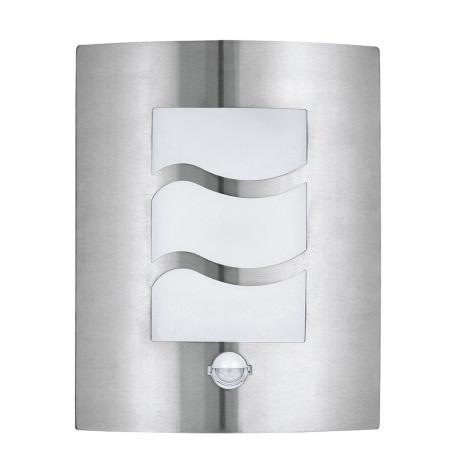 EGLO 30194 - Senzorové venkovní nástěnné svítidlo CITY 1 1xE27/60W