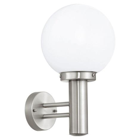Eglo 30205 - Venkovní lampa NISIA E27/60W/230V