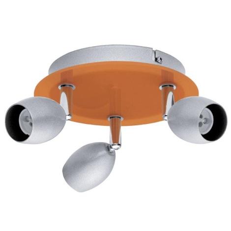 EGLO 30252 - Bodové svítidlo BURONI 3xGU10/50W