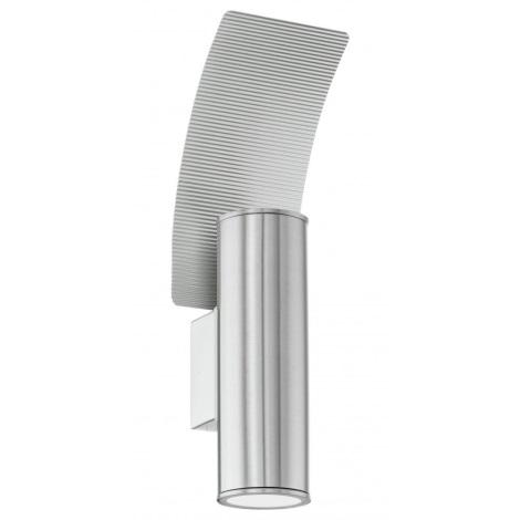 Eglo 30438 - Venkovní nástěnné svítidlo RIGA 2 2xG10/50W/230V