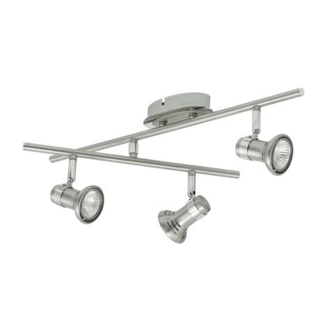 EGLO 30527 - Bodové svítidlo MADO 3xGU10/50W
