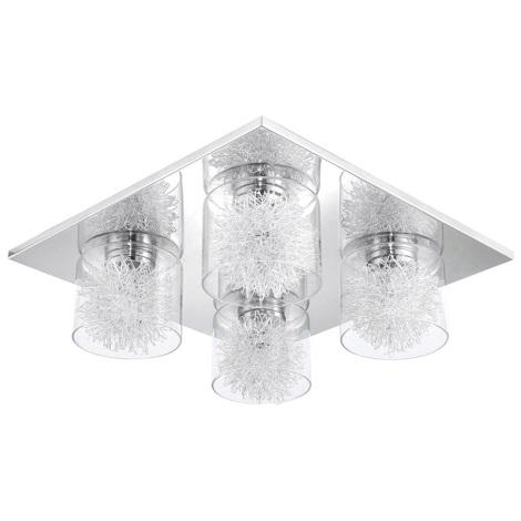 Eglo 31335 - Stropní svítidlo ALTAMURA 4xG9/33W/230V