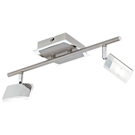 Eglo 31369 - LED bodové svítidlo PIKARA 2xLED/4,5W/230V
