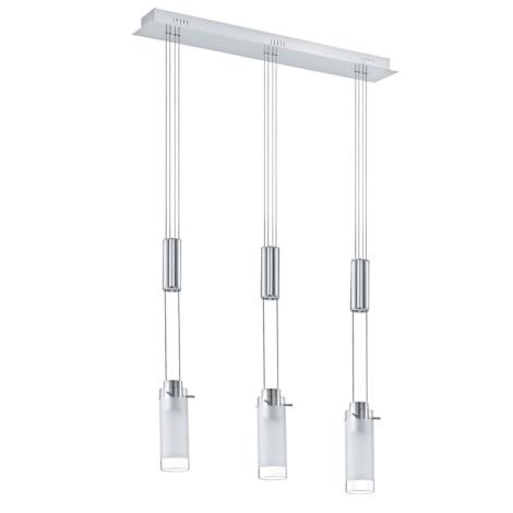 Eglo 31503 - LED lustr AGGIUS 3xLED/6W/230V