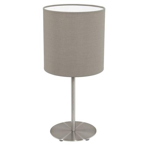 Eglo 31595 - Stolní lampa  PASTERI 1xE27/60W/230V