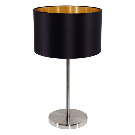 Eglo 31627 - Stolní lampa  MASERLO 1xE27/60W/230V